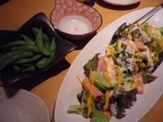鶏ベーコンのシーザーサラダ