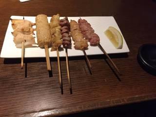 串焼き6種盛り合わせ