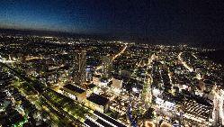 岐阜シティタワー43最上階。どのお席からでも夜景を楽しめます