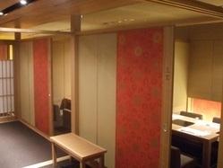 プライベート感のある落ち着いた個室をご用意しております。
