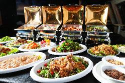 量も質も大好評◎パーティーを彩るビュッフェ料理をご用意!