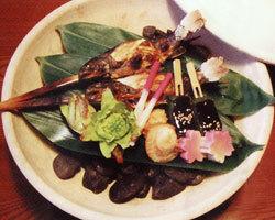 コース料理にて通年信州の清流魚をお楽しみいただけます。