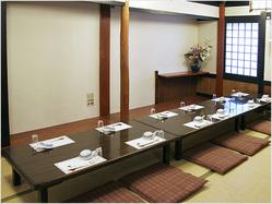 慶事・法事等にも最適なお部屋 (3階:座敷:~50名様)