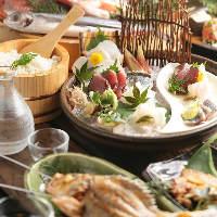 宴会や接待などに最適な各種宴会コースを御用意しております。