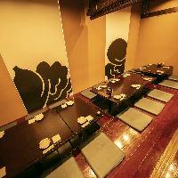 【スタイリッシュなテーブル席】