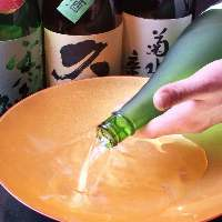 お肉に合う東北の日本酒を厳選して取り揃えております!