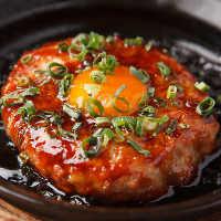 これぞ吾平の味!鶏胸肉とコリコリ軟骨で作った鶏つくね鉄板焼き