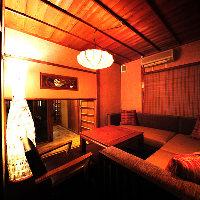 築60年の旅館を改装したノスタルジックで大人な雰囲気の店内。