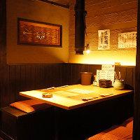 個室は3~20名様までの掘りごたつ席。種宴会に最適な個室完備!
