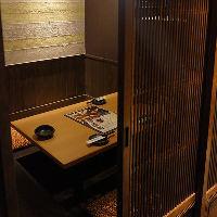 【個室】2名様~ご利用可能な個室をご用意♪ご予約受付中!