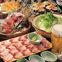 【宴会】宴会コースは飲み放題付き4000円~ご用意しております。