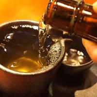 【地酒】四国の銘酒の数々をお楽しみください。各種宴会に最適!