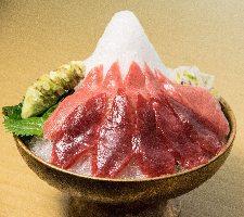 駿河湾の新鮮魚介を新鮮な本山葵で召し上がっていただきます。