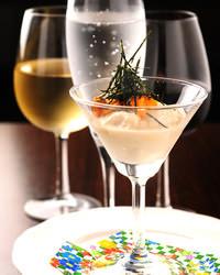 和食に『シャンパン』 枠に囚われない・・・大人達の遊びの空間