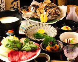 旬の食材をふんだんに使った 『こころ』の会席料理の数々!!