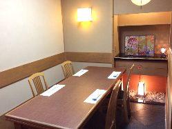 本館 テーブル個室