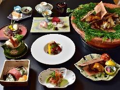 【本格和会席】 旬の素材を華麗な職人技で魅了する日本料理