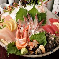 南伊勢などから厳選した新鮮な魚介料理をお楽しみいただけます!