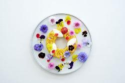 記念日やプロポーズには特別ケーキ!ご相談ください!