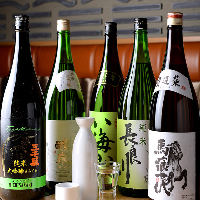 岐阜の地酒やフランス産ワインなどお肉に合うお酒を幅広くご用意