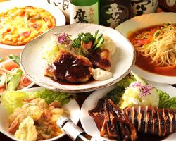 変わらぬ伝統の味をご提供致します。 コース料理4500円~