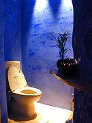 かわいいトイレもお店の自慢