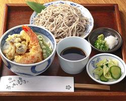 ■ 姫ご膳 ■ ミニ天丼、ミニせいろ