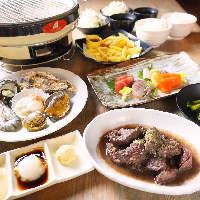 心もお腹も大満足間違いなし!海鮮BBQ食べ&飲み放題コース