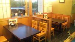 テーブル 4人掛け×2