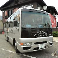 貸切4~50名様までOK♪会社からお店まで無料送迎バスあります!