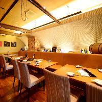【テーブル個室】最大20名様対応 お洒落な人気の個室空間★