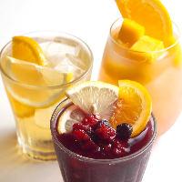 「果実の入ったノンアル」は豊富な種類で女性に人気!