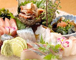 できる限り 旬の鮮魚で、盛り付けます。
