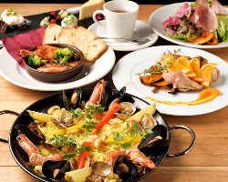 時間無制限で10種以上のワインが1,800円(税抜)で飲み放題!