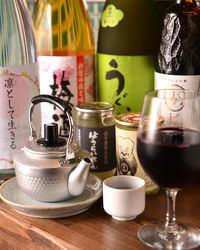 ●ワイン・焼酎・日本酒etc… ドリンクも充実!!
