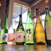 定番酒から季節のお酒まで幅広く取りそろえております!