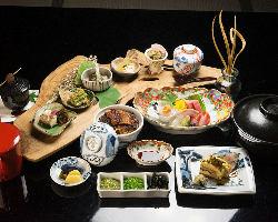 ひつまぶし・蛤のしゃぶしゃぶなど本格的な和食メニューコース