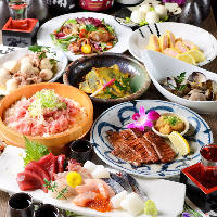 自慢の東北料理を!飲み放題付コース 2,980円~ご用意してます