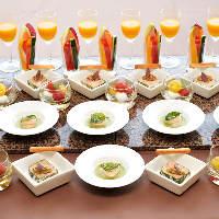 彩り豊かなフレンチの他、和のお料理もご用意させていただきます