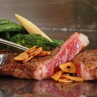 多彩なブッフェには出来立て料理が楽しめるライブキッチンもあり