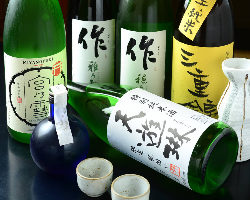 スタッフおすすめの数量限定酒の日本酒が数種類ございます!!
