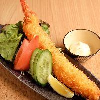 【お酒進む逸品】 魚介を使用したお料理や名古屋名物が揃う