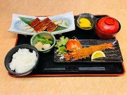 人気!ランチ 松阪牛サイコロステーキセット