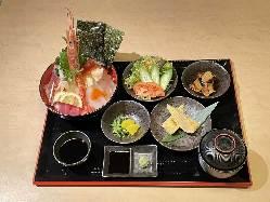 日替わり定食 780円(税別)