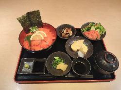 刺身定食 1200円(税別)