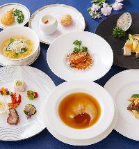 広東料理を中心に珍味が味わえる