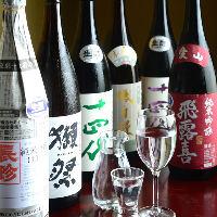 大曽根ではここでしか飲めない入手困難な日本酒を多数ご用意