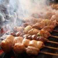 楽蔵自慢の炙り料理と日本酒や焼酎などのお酒は相性抜群!