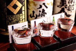 こだわりの日本酒3点飲み比べセット!