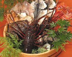 新鮮な伊豆の海の幸